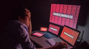 Photo of ransomware attack on Singapore companies